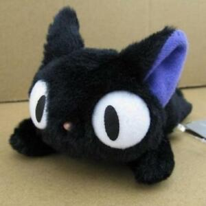 Japanese Anime Kiki's Delivery Service JIJI Cat Plush Mini Toy Gift Doll