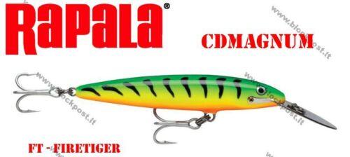 9cm. Different colors CDMAG09 CDMAG07 Rapala Countdawn Magnum 7cm