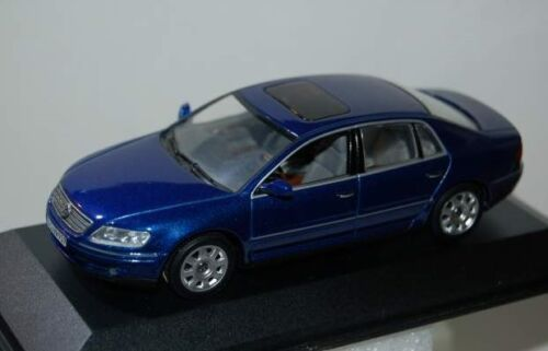 Volkswagen Phaeton Bleu MINICHAMPS 1//43
