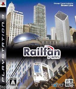 Used-PS3-Railfan-SONY-PLAYSTATION-3-JAPAN-JAPANESE-IMPORT