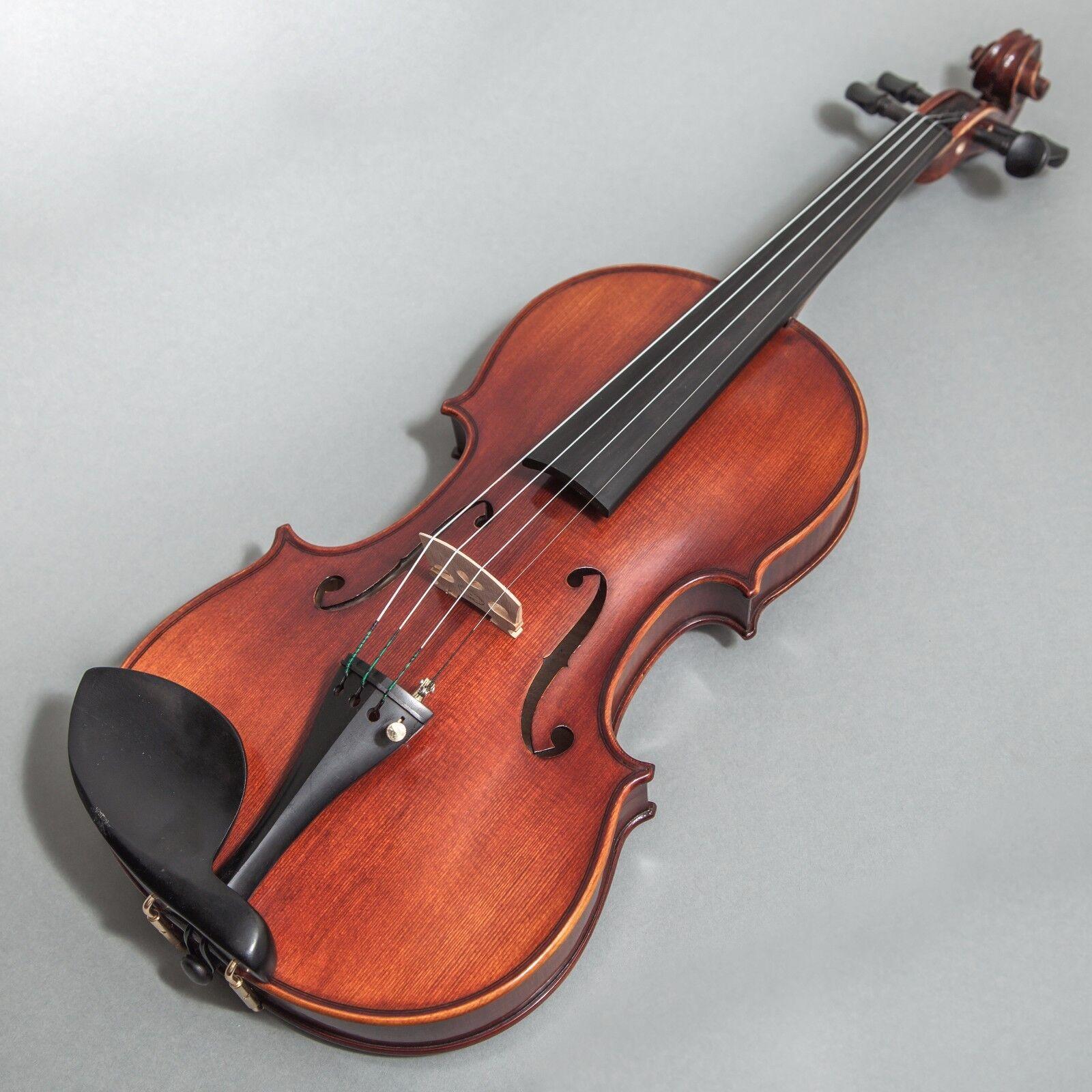 Sky FL001-GX Hand Made Professional 4 4 Full storlek Violin Ebony Fitted