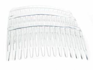 7cm-Clear-Side-Hair-Combs-Slides-Clips-Hair-Accessories