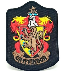 Harry-Potter-Gryffindor-Long-Iron-Sew-On-Embriodered-Patch-581