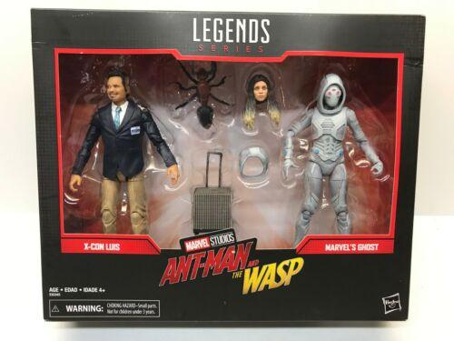 X-avec Luis /& Ghost Action Figure pack NEUF Hasbro Marvel Legends Series E6345