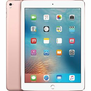"Apple 9.7"" iPad Pro 32GB, Wi-Fi + 4G LTE, Gold, Rose Gold or Gray"