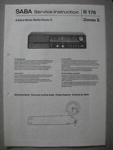 SABA Donau S Service Manual inkl. Erweiterung auf Donau TL