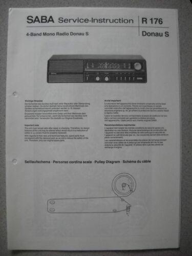 TV, Video & Audio Erweiterung auf Donau TL SABA Donau S Service ...
