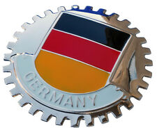 German flag car grille badge - Germany