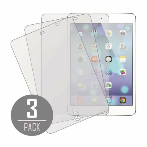 3X Clear LCD Protector Screen Cover for Apple iPad Mini 1 2 3 4 Air Pro 9.7