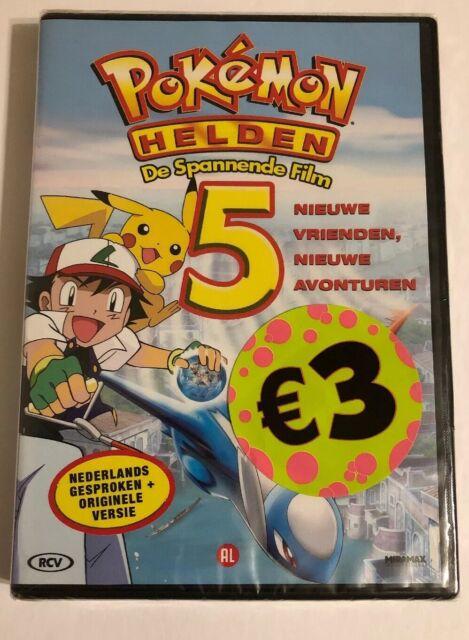 Pokemon 5 - Helden -  (UK IMPORT)  DVD NEW