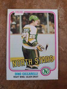 1981-82 O-Pee-Chee OPC Dino Ciccarelli #161 NM MT+ Rookie RC