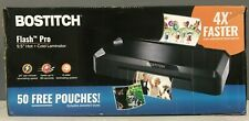 Bostitch Flash Pro 95 Fast Heat Thermal Laminator Hot Cold Used