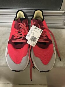 adidas-Men-s-Nite-Jogger-Shoes-Size-11-5-Shock-Red-Grey-Reflective-EE5883-NWOB