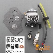 Carburetor For Honda GX25 GX25NT HHT25S 16100-Z0H-825 Repair kit Spark Plug Bulb