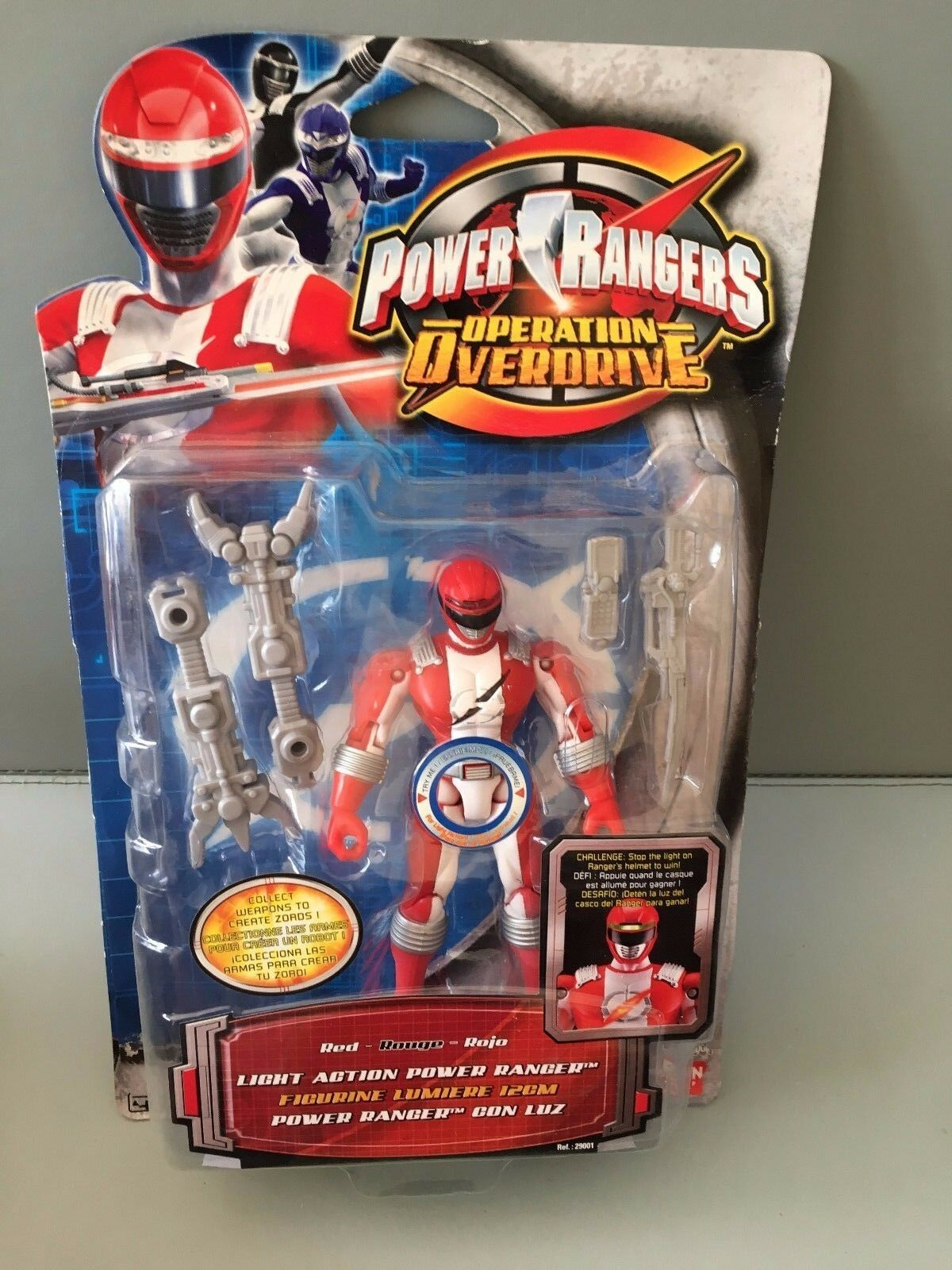 Power rangers operation overdrive rote ranger neu versiegelt