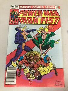 Power-Man-and-Iron-Fist-84-4th-app-Sabretooth-Marvel-Comics-1982-FN