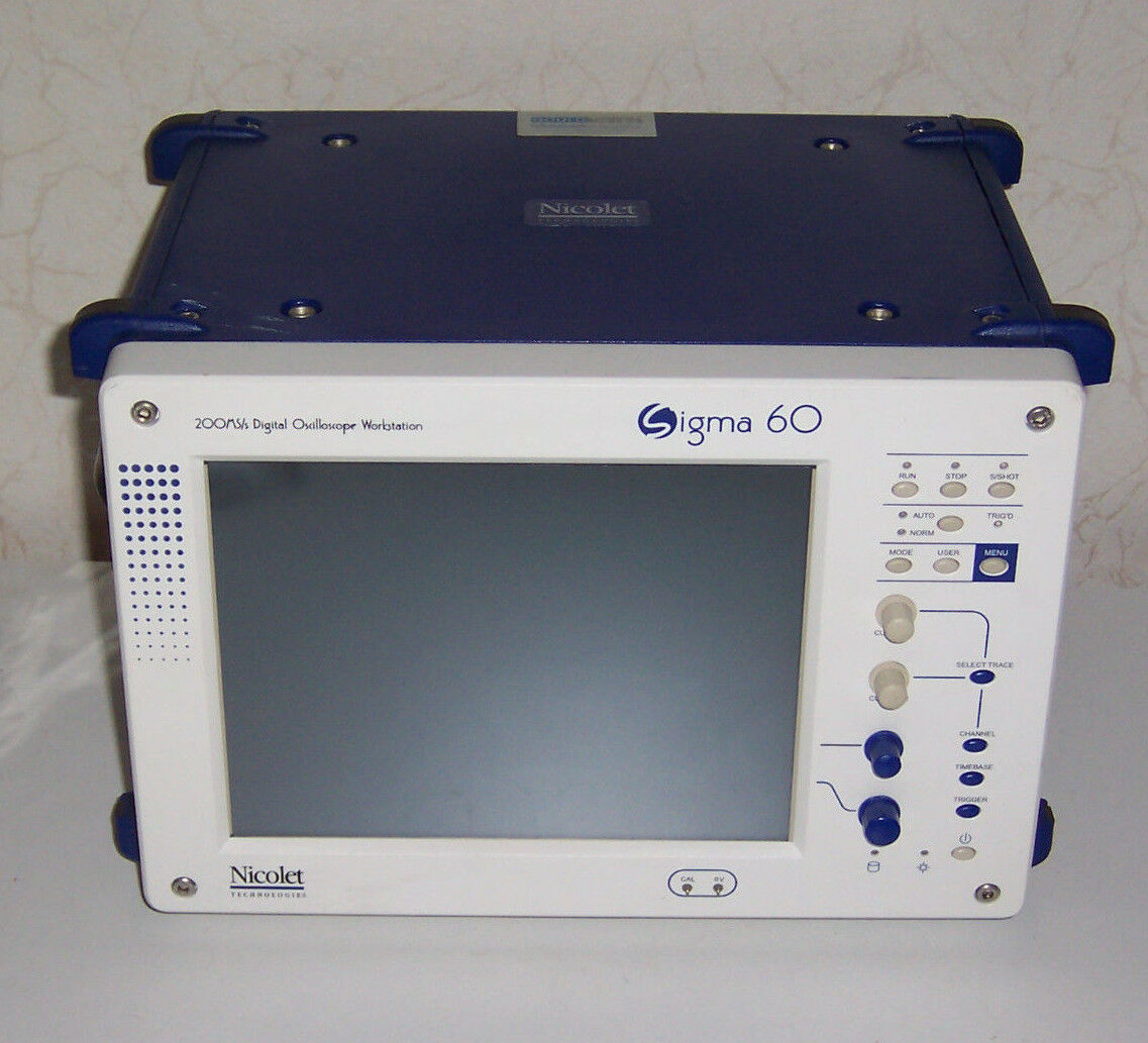 Nicolet Sigma 60 4x200MHz Oszilloskop 200MS s
