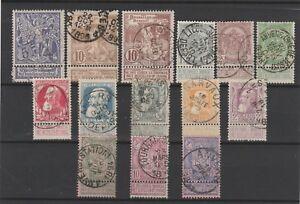 FRANCOBOLLI-1894-1907-BELGIO-Z-9591