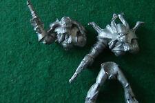 Warhammer 40k Rogue Trader Chaos Renegade Riders OOP 2 Torsos & 1 Legs Mounted