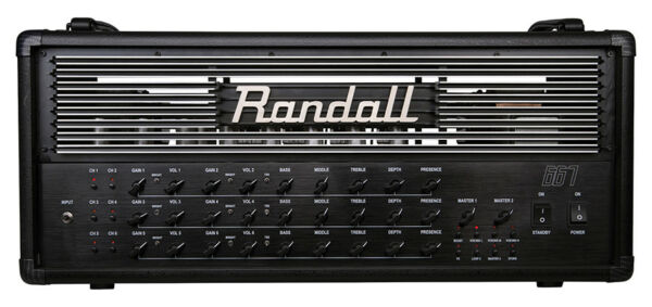 randall 667 guitar amp head all tube 120 watts 6 channels midi switchable ebay. Black Bedroom Furniture Sets. Home Design Ideas
