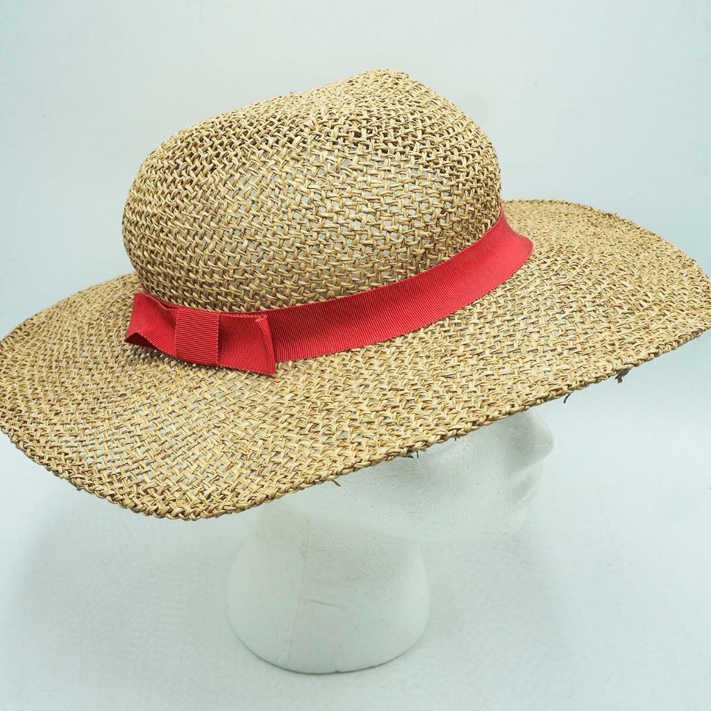 Vintage Summer Straw Hat - image 1