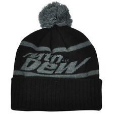5de71a7a8a1 item 1 Mountain Dew Word Mark Pom Pom Knit Beanie Cuffed Black Grey Hat  Toque Soda Pop -Mountain Dew Word Mark Pom Pom Knit Beanie Cuffed Black  Grey Hat ...