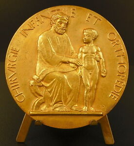 Medal-Rene-Froelich-Surgery-Infantine-Orthopedics-Pediatric-Surgery-Medal