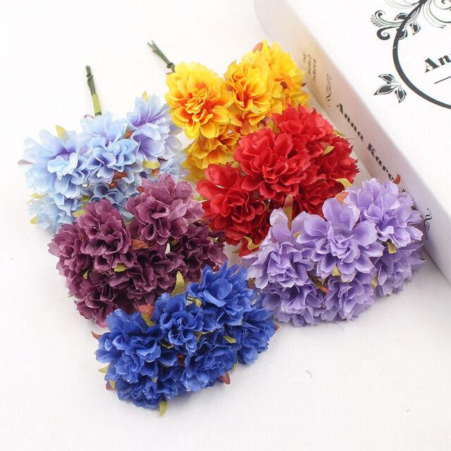 Bridal Wedding Bouquet Home Party Decor Artificial Flower Silk
