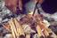 """FLINT STEEL FERRO ROD FIRE LIGHTER STARTER 6.5mm X 75mm 3/"""" SURVIVAL"""