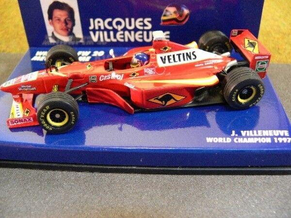 1 43 Minichamps Williams FW 20 MECACHROME J. VILLENEUVE 1997  1