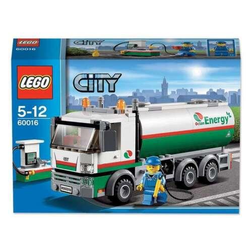 Precut Custom Replacement Stickers voor Lego Set 60016 2013 Tanker Truck