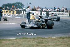 Ronnie Peterson JPS Lotus 72E British Grand Prix 1973 Photograph 6