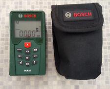 Bosch Plr 25 Laser Entfernungsmesser Bedienungsanleitung : Bosch laser entfernungsmesser plr mit schutztasche ebay