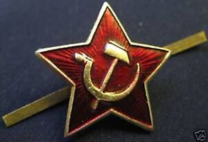 Original-Soviet-Union-Red-Star-Badges-Pre-1991-Free-delivery-worldwide