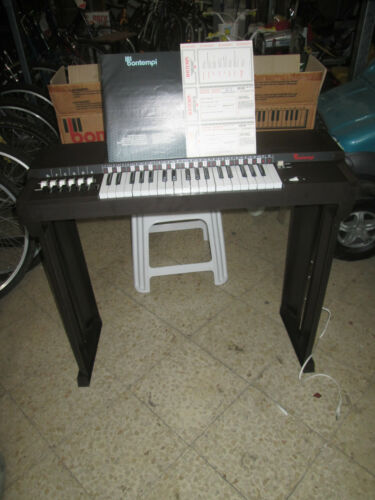 BONTEMPI ORGANO ELETTRICO CON 12 ACCORDI B12 ORGUE ELECTRIQUE ELECTRIC ORGAN