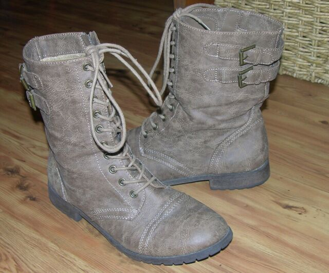 rampage lace up boots
