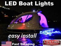 Bass Boat Led Boat Lights ___ $19.99 ___ 12 Strips X 2 ___ 12v Marine Universal