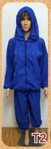 NEW-PPE-Royal-Blue-Microfiber-Water-Repellent-Water-Resistant-Men-039-s-Size-L