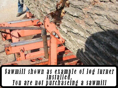 Sawmill Universal Hydraulic Log Turner Wood-Mizer Baker TimberKing