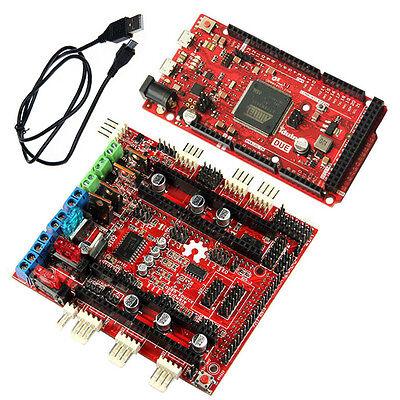 Arduino compatible ARM-based DUE w/ Geeetech RAMPS-FD shield,Reprap Prusa Mendel