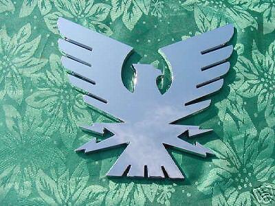 """FORMULA BOAT BIRD THUNDERBIRD EMBLEM NOS CHROME 6/"""" by 6.5/"""" NEW genuine factory"""