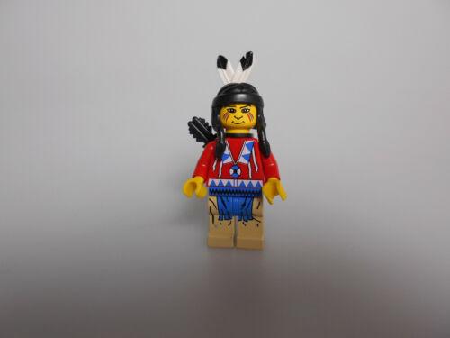 Lego® Western Zubehör 1x Minifigur Indianer Red Shirt aus Set 6748-6766-6763