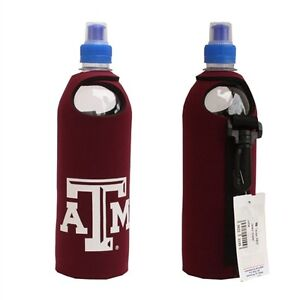 Texas A&M Aggies Logo Neoprene 1/2 Liter Water Bottle Cover