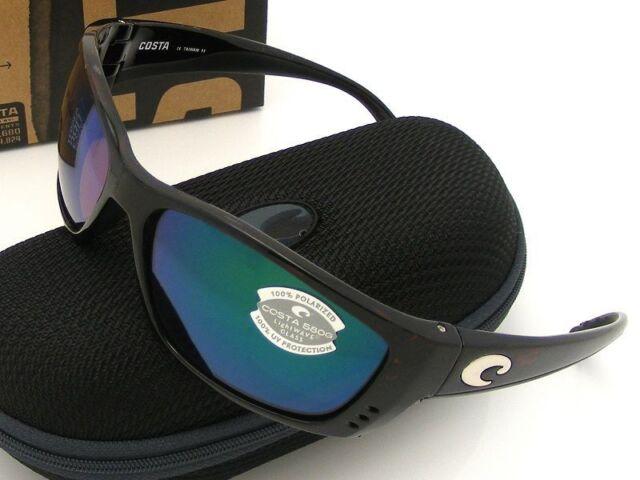 8d03e3b00465 Costa Del Mar Sunglasses FS 10 OGMGLP Fisch Tortoise Green 580g Glass Lense