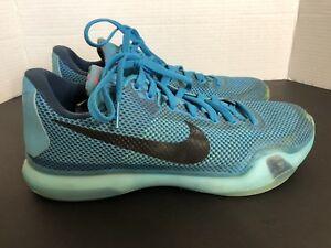 3a14731a33bc Nike Zoom Kobe X 10 Blue Lagoon 5 AM Flight Men s 9.5 Mamba Air