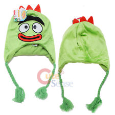 Yo Gabba Gabba Brobee Laplander Hat Plush Beanie Cap with Ear Flap (Kids -Adult)