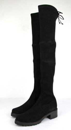 5050a3d7d51 4 of 10  835 New Stuart Weitzman Black Suede Vanland Over-The-Knee Boot