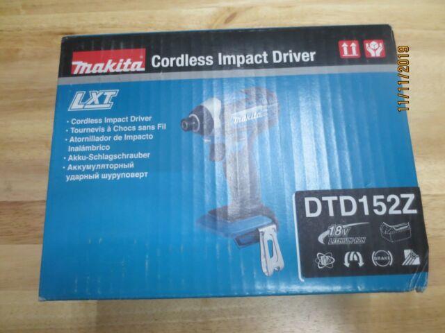 Makita DTD152Z CORDLESS IMPACT DRIVER BRAND NEW
