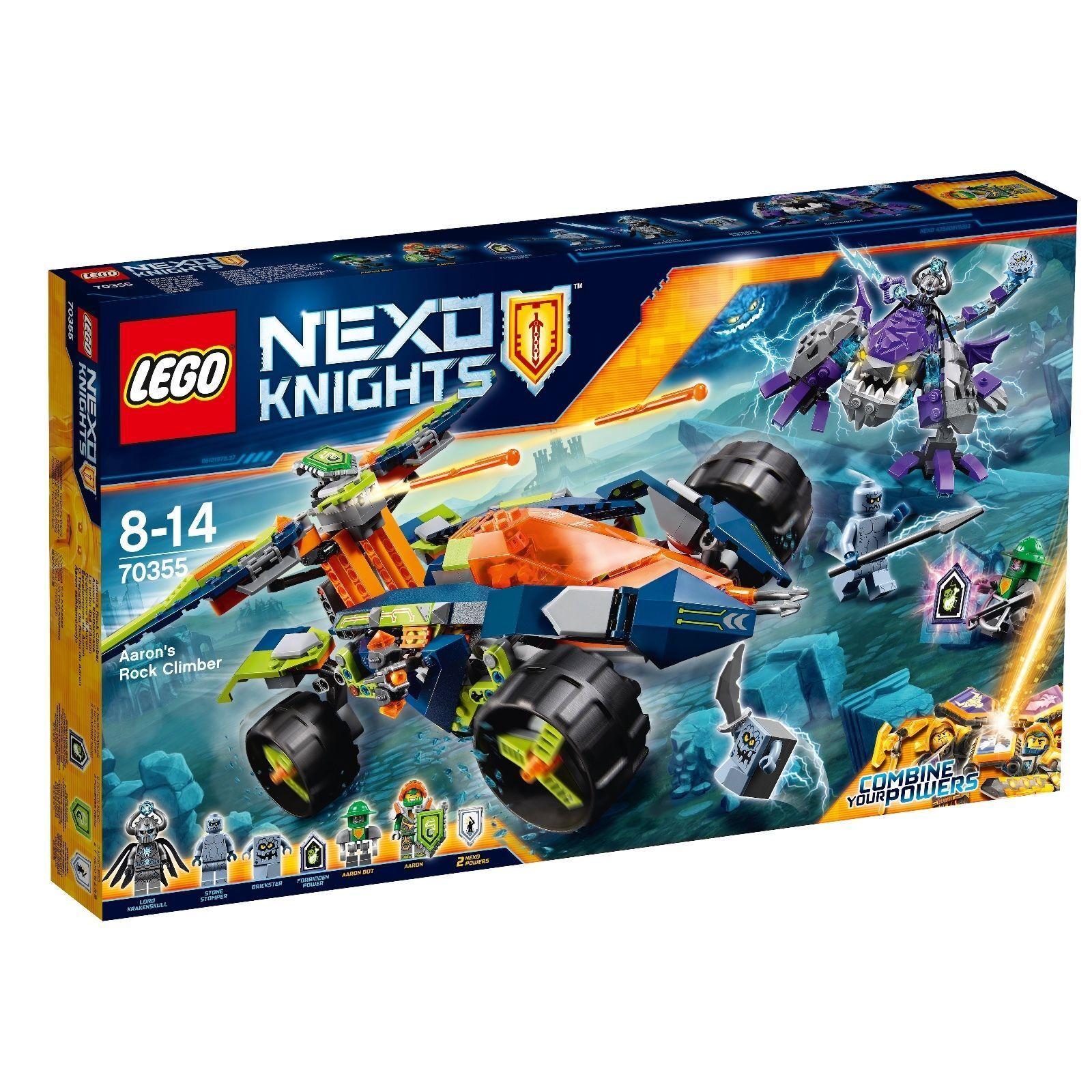 LEGO® Nexo Knights™ 70355 Aarons Klettermaxe NEU OVP NEW MISB NRFB