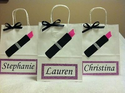 Personalized Bridesmaid Gift bags - Set of 8